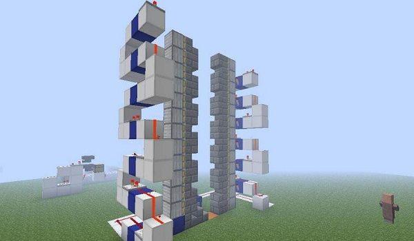 我的世界电梯制作教程